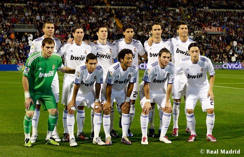 The Best Team Squad of Real Madrid : 1st half season 2010-2011 Hala Madrid (1/2)