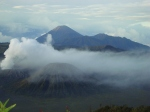 A Trio Gunung Batok Bromo Semeru