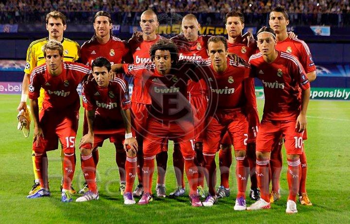 The Best Team Squad of Real Madrid : 1st half season 2011-2012 Hala Madrid (4/5)