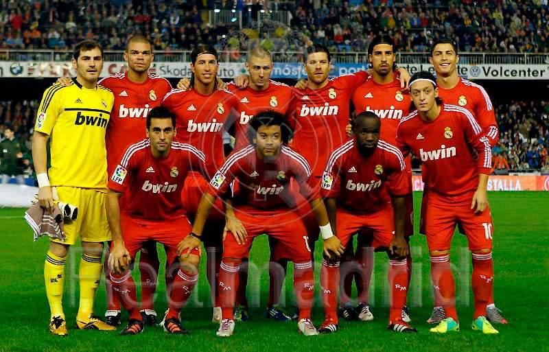 The Best Team Squad of Real Madrid : 1st half season 2011-2012 Hala Madrid (5/5)