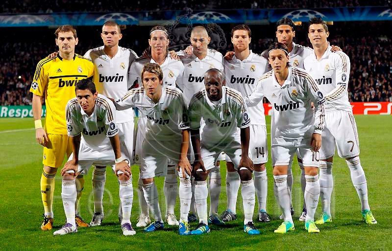The Best Team Squad of Real Madrid : 1st half season 2011-2012 Hala Madrid (3/5)