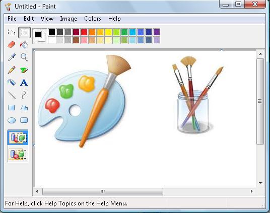 Postingan blog gambar paint jangan lebay jangan asal for Microsoft paint download
