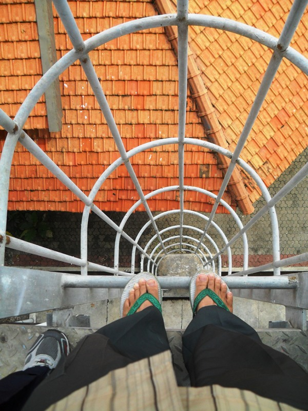 Weekly Photo Challenge: Down - Stair & Ladder - (1/5)