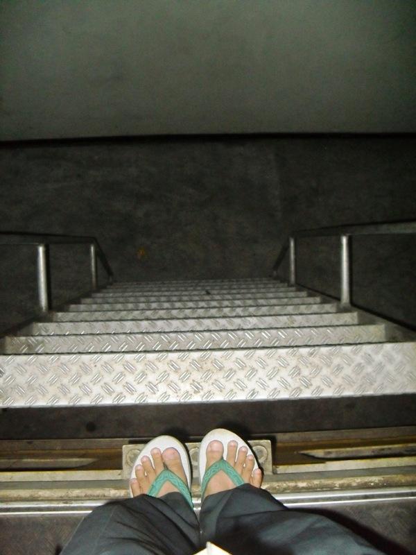 Weekly Photo Challenge: Down - Stair & Ladder - (5/5)