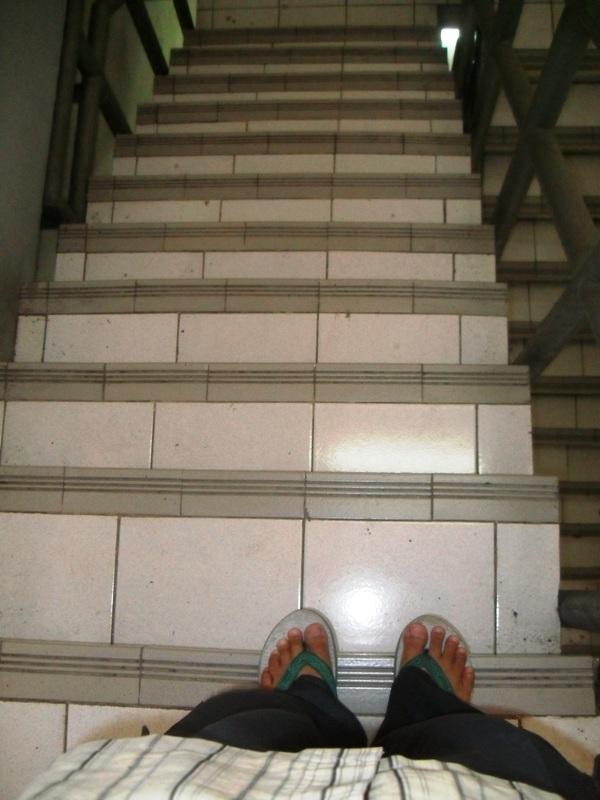 Weekly Photo Challenge: Down - Stair & Ladder - (4/5)