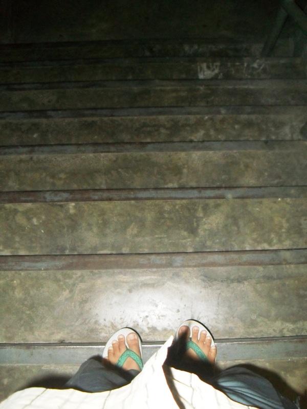 Weekly Photo Challenge: Down - Stair & Ladder - (3/5)