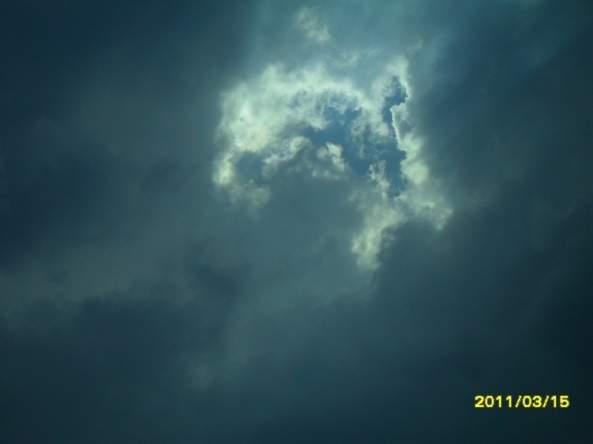 Weekly Photo Challenge: Contrast. -Cloud- (4/4)