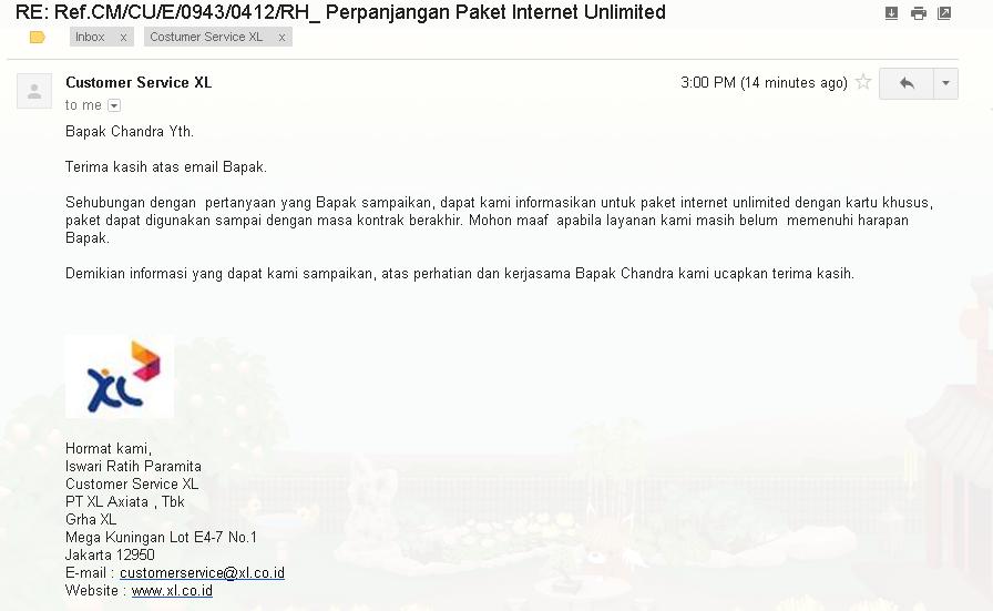 Berakhir Sudahlah Paket Internet Unlimited XL . Nasib Paket 3 6 12 Bulan?? (4/4)