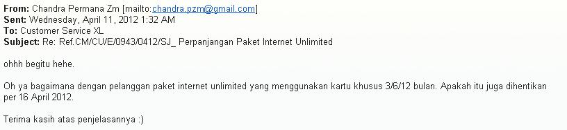 Berakhir Sudahlah Paket Internet Unlimited XL . Nasib Paket 3 6 12 Bulan?? (3/4)