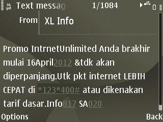 Berakhir Sudahlah Paket Internet Unlimited XL . Nasib Paket 3 6 12 Bulan?? (1/4)