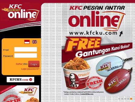 KFC Pesan Antar online