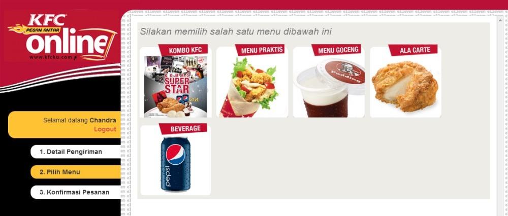 Cara Pesan Antar Online KFC Tanpa Telpon 14022 (4/6)