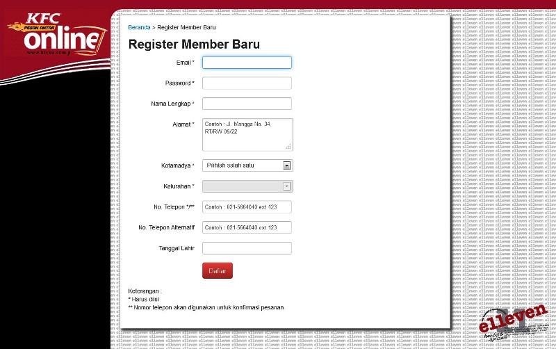 Cara Pesan Antar Online KFC Tanpa Telpon 14022 (2/6)
